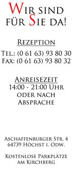 Hotel Garni Burg Breuberg Ihr Hotel In Höchst Im Odenwald